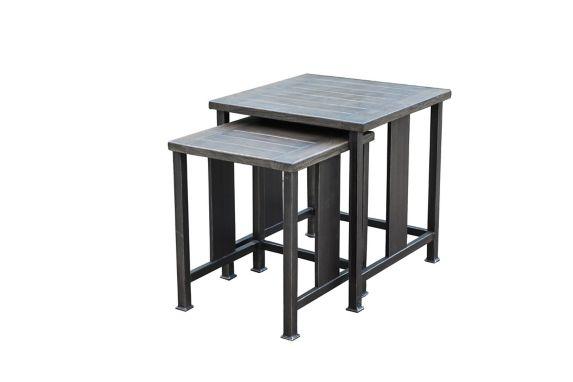 Tables gigognes carrées CANVAS Dashley