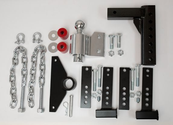 Andersen Weight Distribution Kit 8-in drop, 2-in Tow Ball with 3-6-in Trailer Bracket