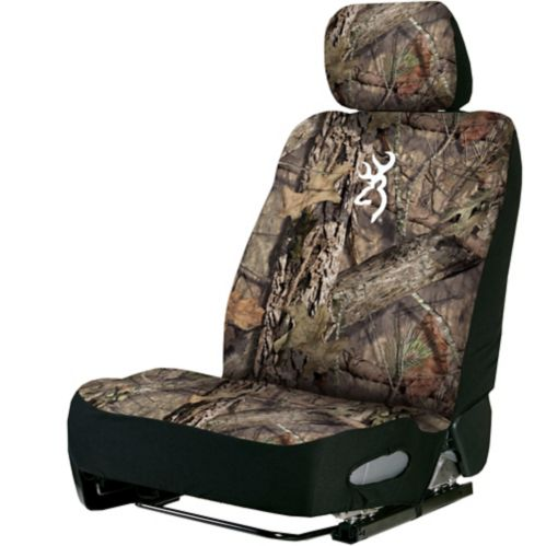 Browning Lowback Seat Cover, Neoprene, Mossy Oak Country