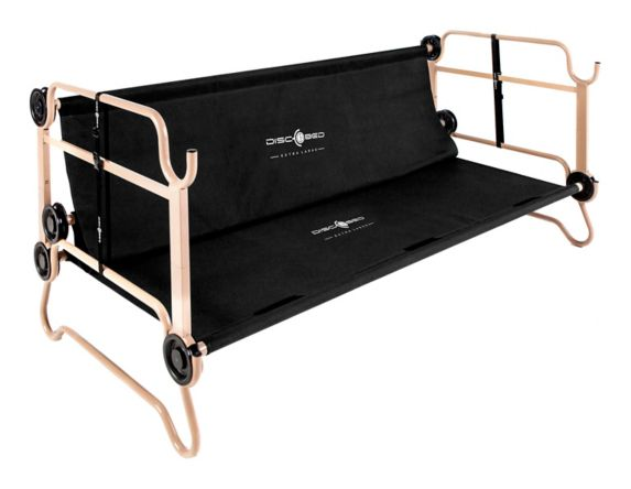 Disc-O-Bed Cot with Side Organizers, Extra-Large
