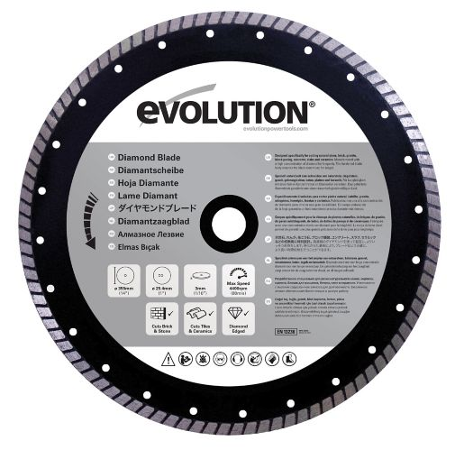 Evolution Diamond Masonry Blade, 14-in