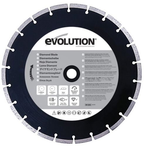 Evolution Diamond Masonry Blade, 12-in