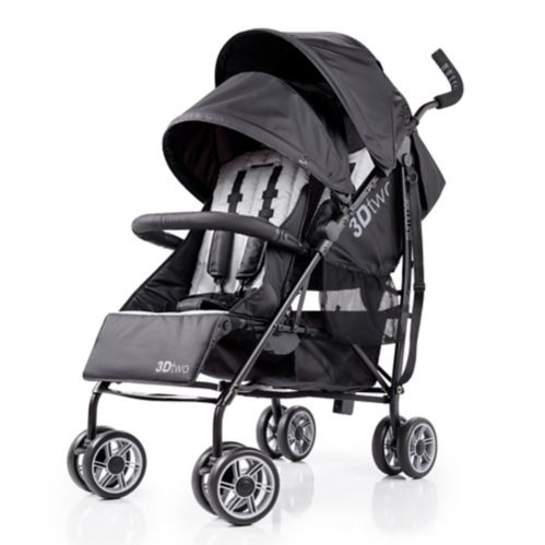 Summer Infant 3D TWO Convenience Stroller