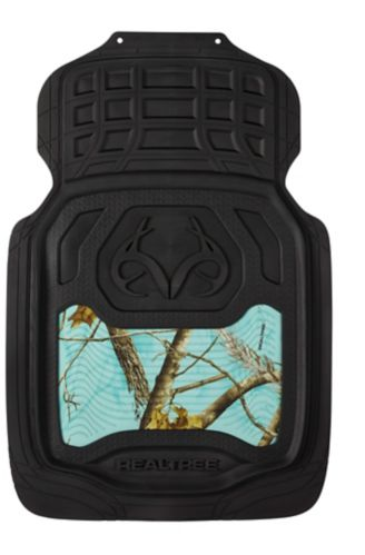 Realtree Camo Floor Mat Set, Mint, 2-pc