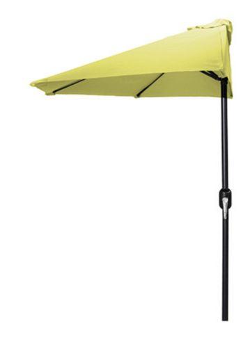 Demi-parasol de jardin Jordan, 7 pi