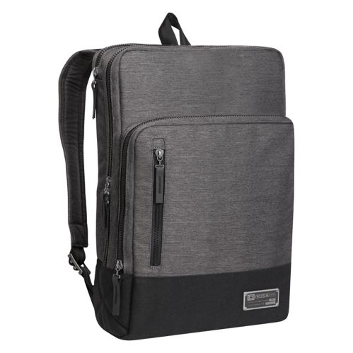 Sac à dos pour ordinateur portable OGIO Covert, gris chiné, 15 po Image de l'article