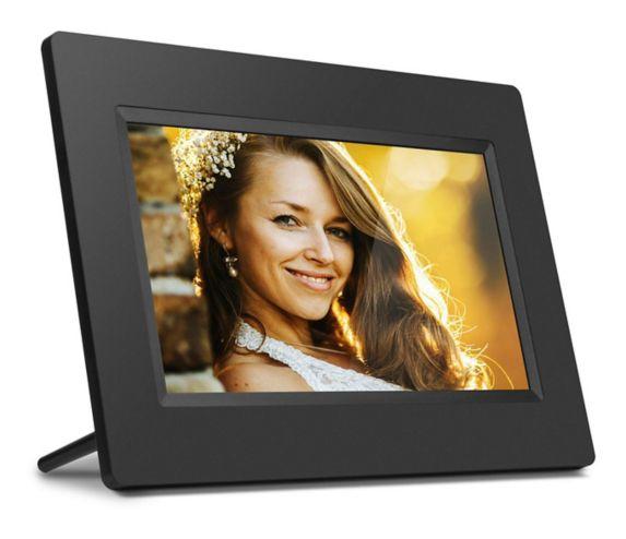 Aluratek 4GB LCD Wi-Fi Digital Photo Frame, 7-in