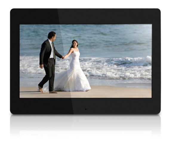 Aluratek 4GB Digital Photo Frame, 14-in