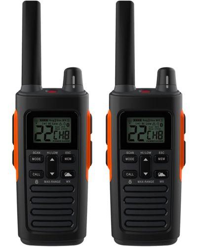 Cobra Rugged Walkie Talkie GMRS 2-Way Radios, 2-pk
