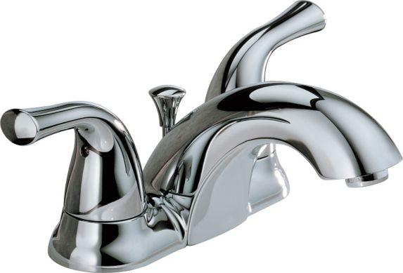 Delta 2-Handle Centerset Lavatory Faucet, Chrome