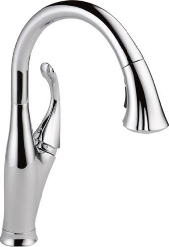 Delta Addison 1-Handle Water Efficient Pull-Down Kitchen Faucet