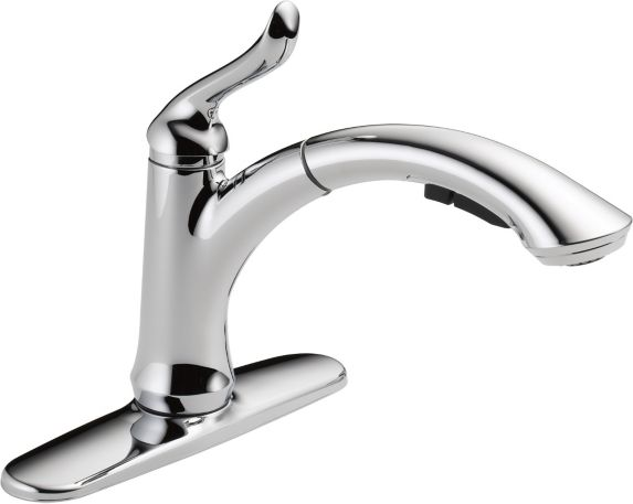 Delta Linden 1-Handle Water Efficient Pull-Out Kitchen Faucet