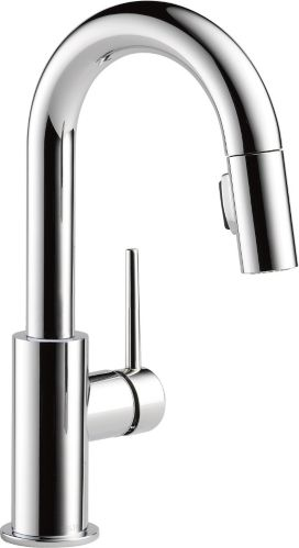 Delta Trinsic 1-Handle Pull-Down Bar/Prep Faucet