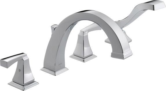 Delta Dryden Roman Tub Trim Kit with Hand Shower