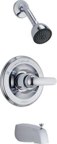 Delta Monitor® Tub & Shower Complete Rough & Trim Kit, Chrome