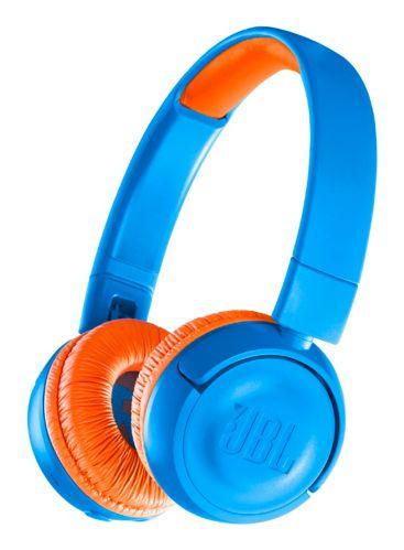 JBL JR 300 Kids' Bluetooth On-Ear Headphones, Blue