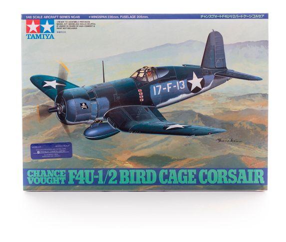 Tamiya Chance Vought F4U-1/2 Bird Cage Corsair Model Kit