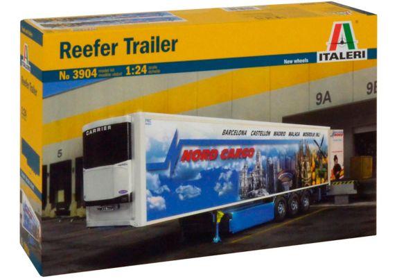 Italeri 1:24 Reefer Trailer Model Kit