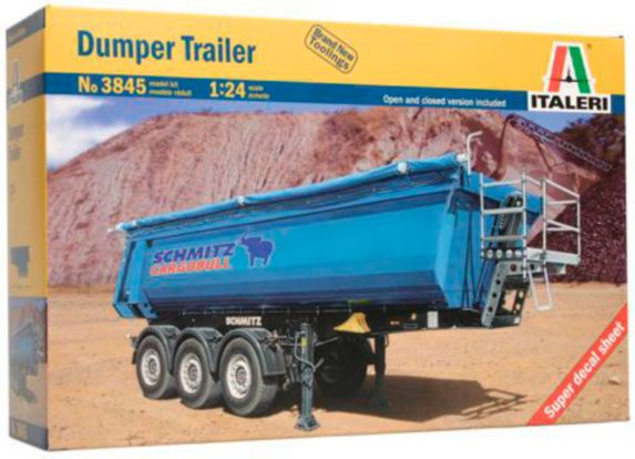 Italeri 1:24 Dumper Trailer Model Kit