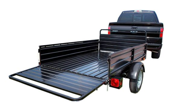 Detail K2 Mighty 5x7 Multi-Utility Boxed Trailer