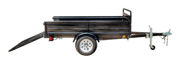 Detail K2 Mighty 5x7 Multi-Utility Boxed Trailer with Drop Down Gate