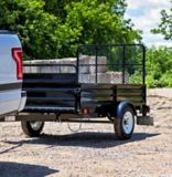 Detail K2 Mighty 5x7 Multi-Utility Boxed Trailer with Drop Down Gate | Detail K2null