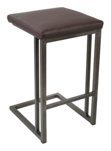 LumiSource Roman Counter Stool Set, Antique/Espresso, 2-pc