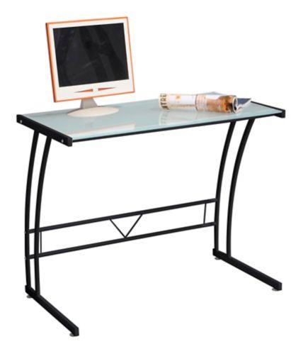 LumiSource Sigma Computer Desk, Black