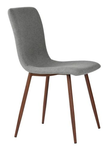 Scargill Upholstered Dining Chair Set, Grey, 4-pc
