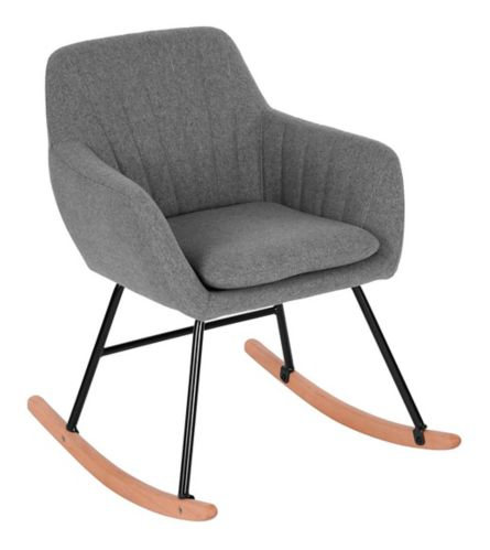 Chaise Bercante Maniar Grise Canadian Tire