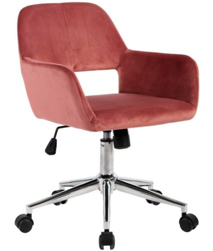 Ross Mid-Back Office Chair, Rose