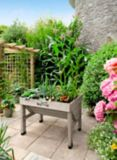 VegTrug Small Classic Raised Garden Bed Planter, Grey | VegTrugnull