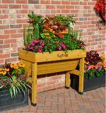 VegTrug Small Wall Hugger Raised Garden Bed Planter, Natural | VegTrugnull