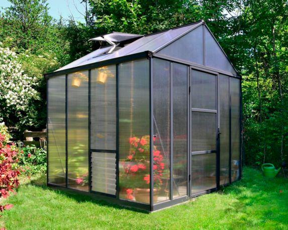 Palram Glory Heavy-Duty Greenhouse, 8-ft x 8-ft