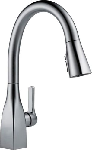 Delta Mateo 1-Handle Kitchen Faucet with ShieldSpray, Arctic Stainless
