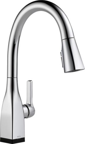 Delta Mateo 1-Handle Kitchen Faucet with Touch2O, Chrome