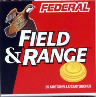 Federal Field Range 12-Gauge 2-3/4-in Lead Shotgun Shells, Size 7 5