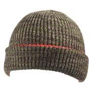 Tuque réversible en tricot acrylique