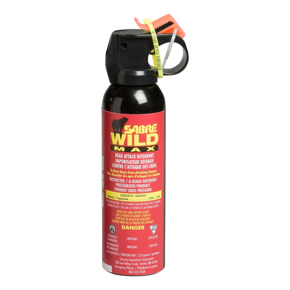 Sabre Max Wild Bear Repellent Spray