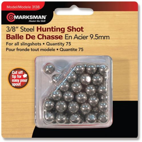 Marksman 3/8-in Steel Slingshot Ammo, 75-ct Product image