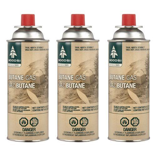 Woods™  Butane Gas, 227-g, 3-pk Product image