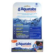 Aquatabs Water Purification Tablets , 50-ct