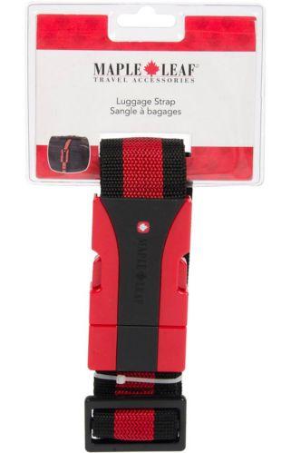 Maple Leaf Luggage Strap Product image