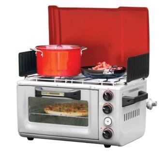 hook up propane coleman stove