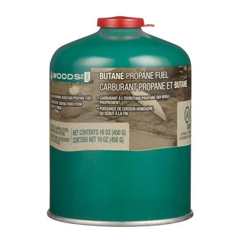 Woods™ Clean Burning Isobutane Camping Fuel, 450-g Product image