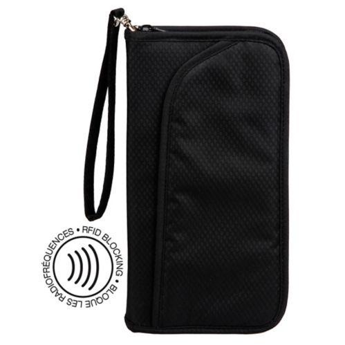Maple Leaf RFID Blocking Travel Organizer Wallet Product image