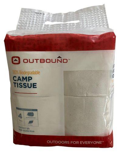 Rapid Dissolve Camp Tissue, 4-pk Product image