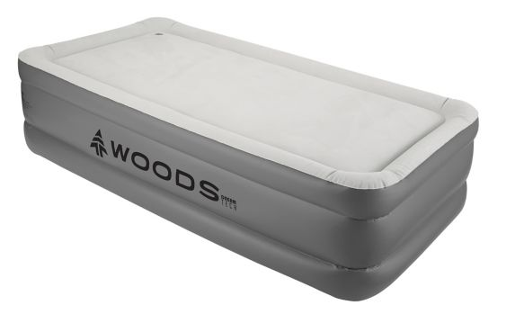Woods™ DreamTech Double-High Memory Foam Airbed with Built-In Pump, Twin