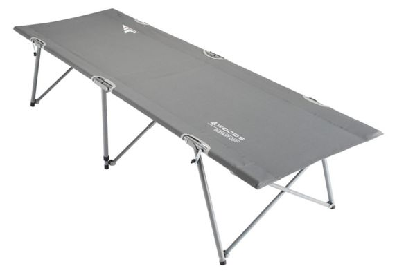 Woods™ Standard Portable Folding Comfort Camping Cot, Grey Product image