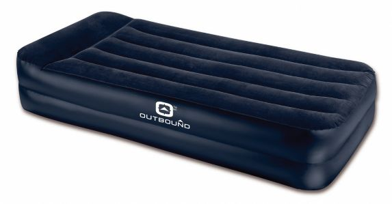 Outbound Double High Air Mattress with Built-In Pump